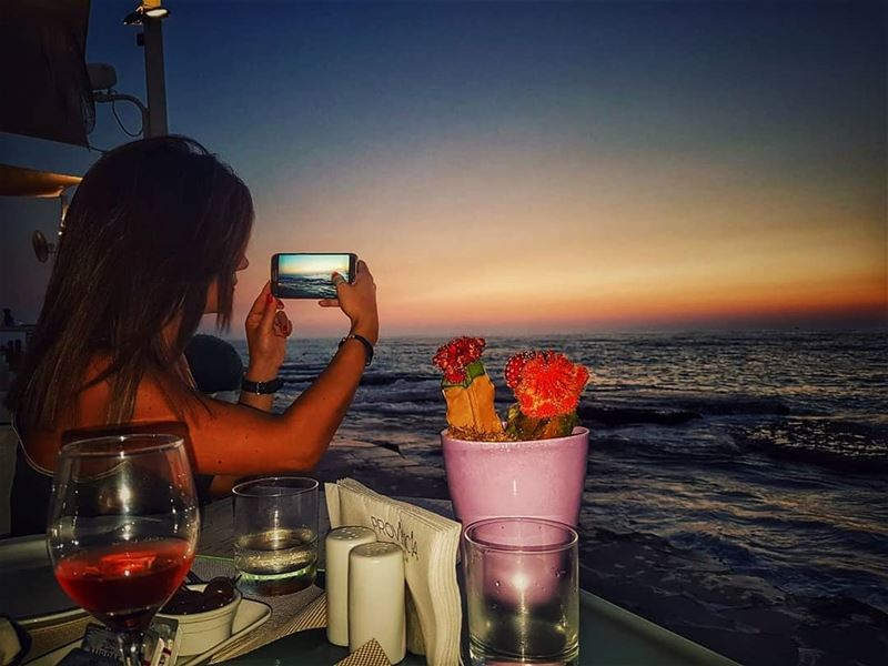 Capture the  moments of today that will WOW ur hearts tomorrow 🧡📍 @byblo (Provincia Ristorante Italiano)